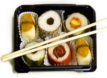 Dessert Sushi from Petit Fors #dessertsushi