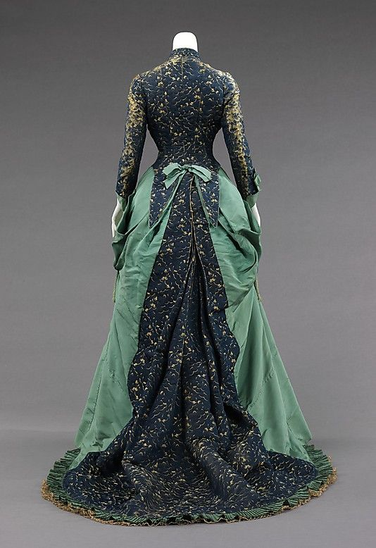Haute couture charles frederick worth afternoon dress gown for French couture houses