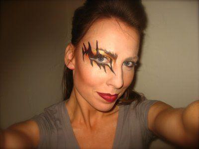 Kiss Inspired Halloween Make-up