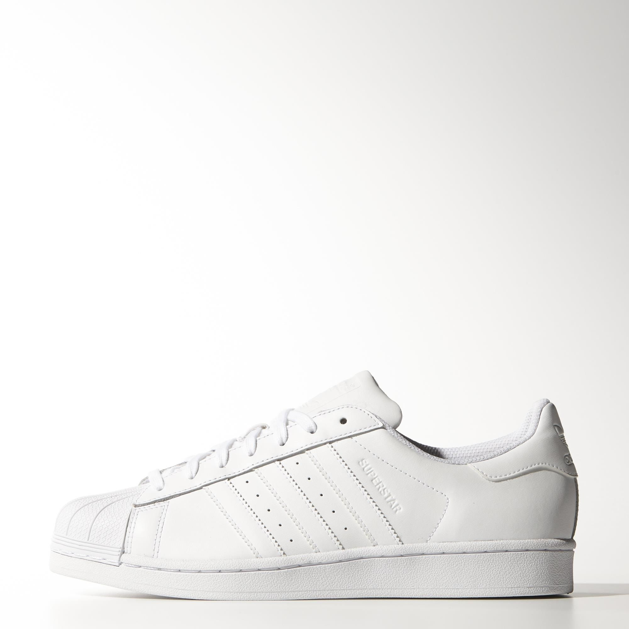 White Superstar Primeknit Shoes adidas US