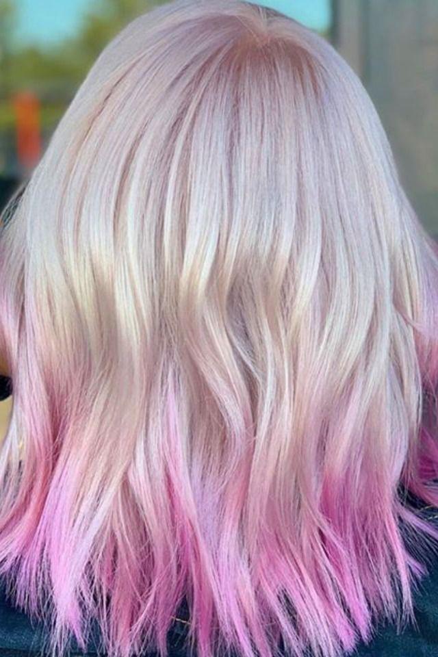42+ Bright dip dye hair trends