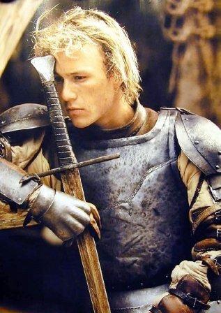 Heath Ledger in A Knight's Tale...I miss him ...