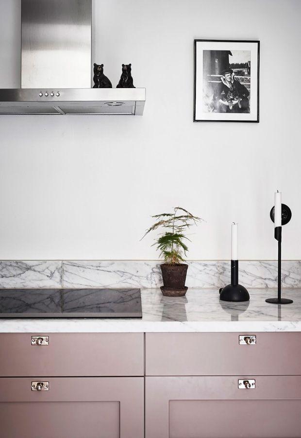 Six ideas for kitchen cabinet fronts - Kitchen cabinets fronts, Cabinet fronts, Kitchen cabinets, Cabinet, Interior, Home decor - Six kitchencabinet ideas for those who fancy an alternative to white or grey  pink, mint green, dark blue, plywood and more