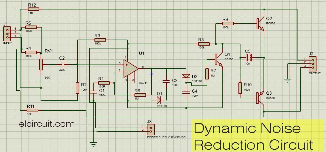 Dynamic Noise Reduction Circuit di 2019 on