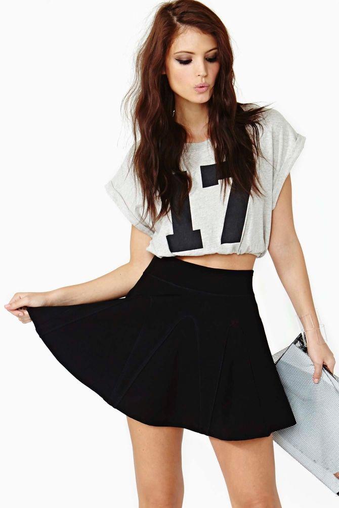 Night Flare Skirt