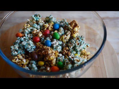 Palomitas dulces de Cine (con M&Ms y Candy Melts) ❀ Momentos Ep.5 ♡ Bocados Divinos - YouTube