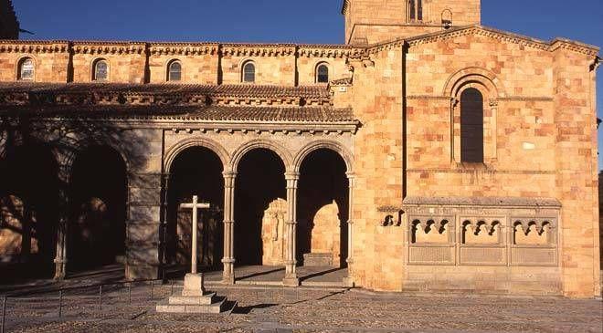 Basilica Of San Vicente Avila Turespaña San Vicente Sacred Architecture Basilica
