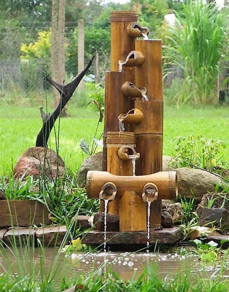 Pin By David Lee On Water Features Bambus Garten Bambus Handwerk