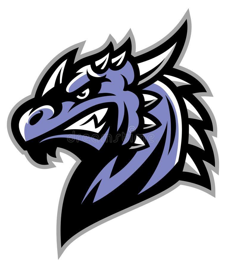 Dragon Head Royalty Free Illustration Animal Logo Sports Logo Inspiration Logo Illustration
