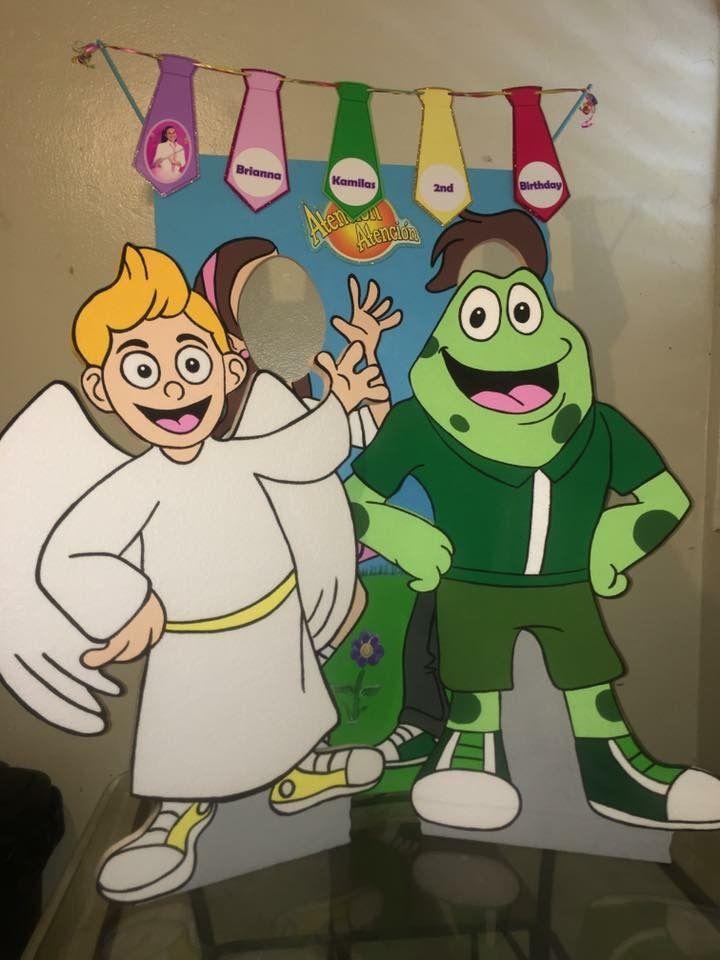 Atencin atencin Tito el angelito y seor sapo foam characters