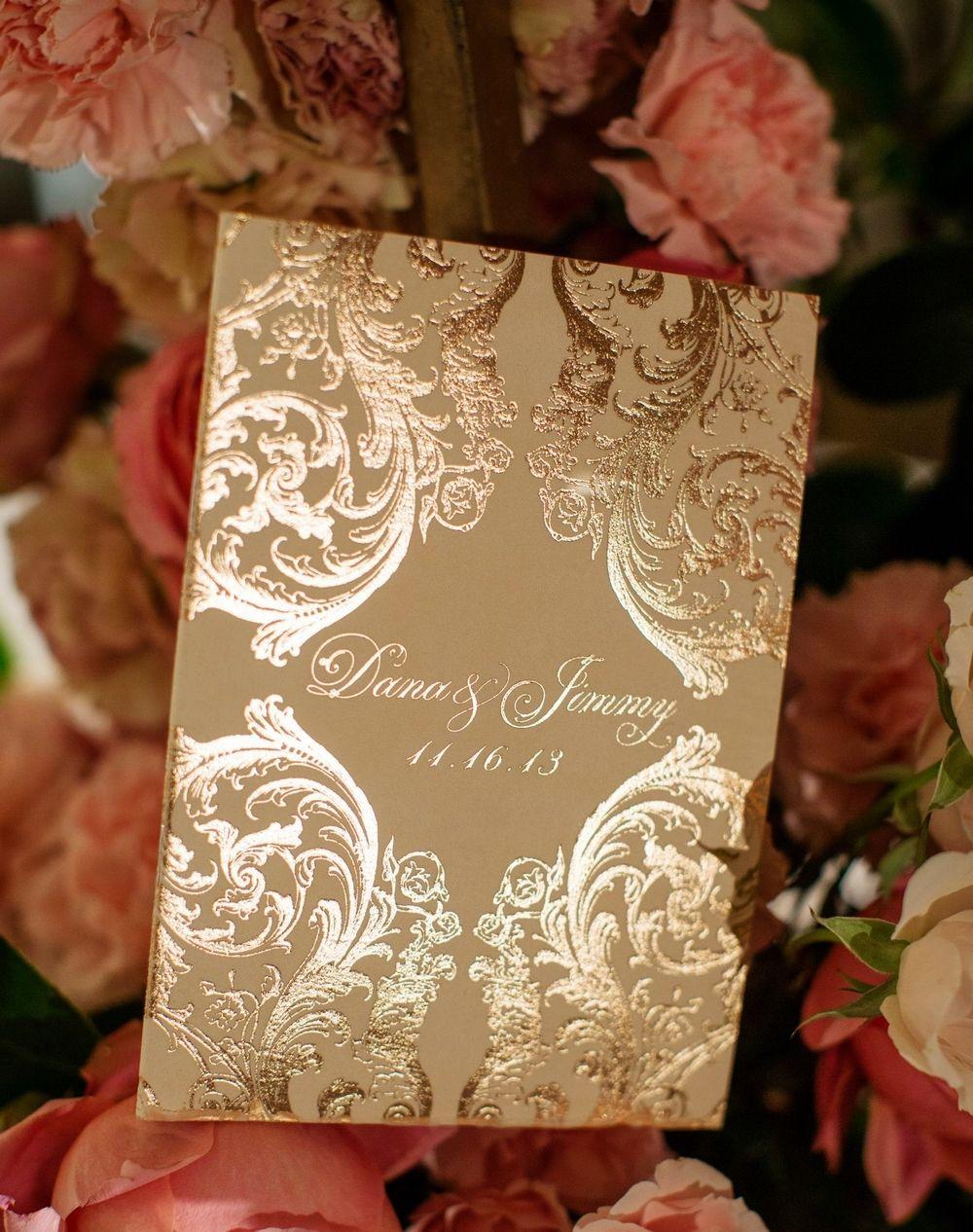 ORNATE ROSE GOLD u0026 VELVET BAROQUE WEDDING