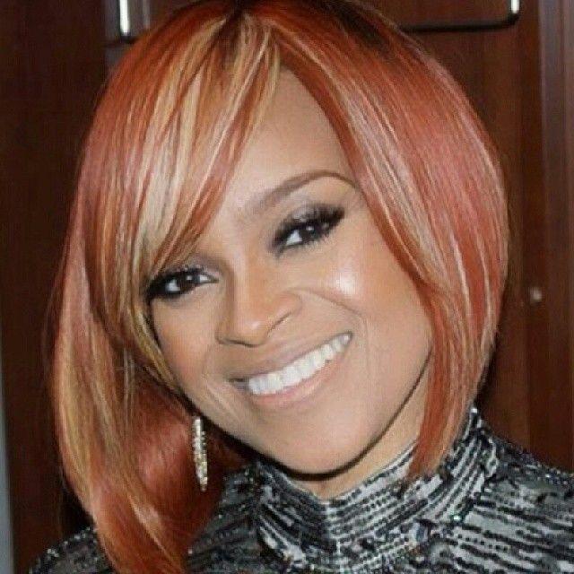 The Look Mrs Karen Clark Sheard Hair Inspiration Color Short Weave Hairstyles Hair Affair