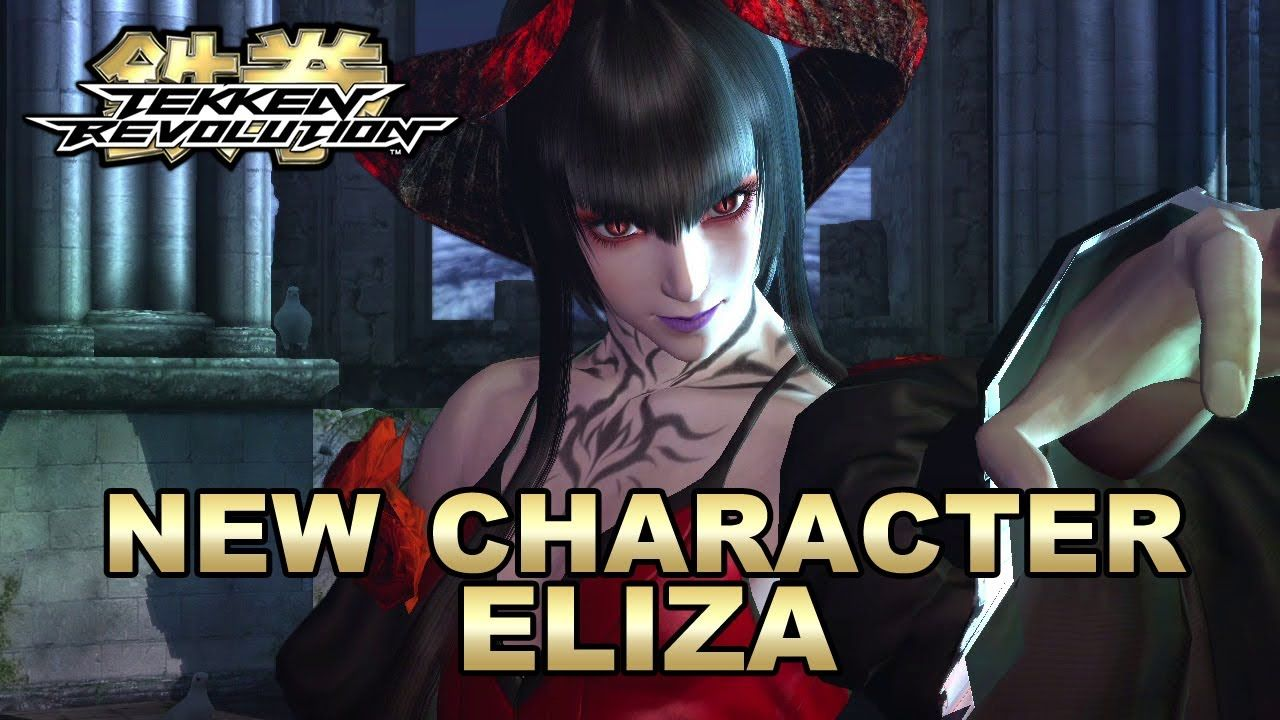 Tekken Revolution - PS3 - New Character Trailer Eliza