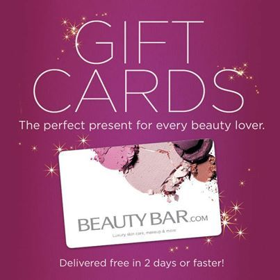 The gift that's always the right shade! BeautyBar.com gift cards.