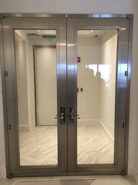 West Palm Beach Penthouse Residence Custom Entrance With Images