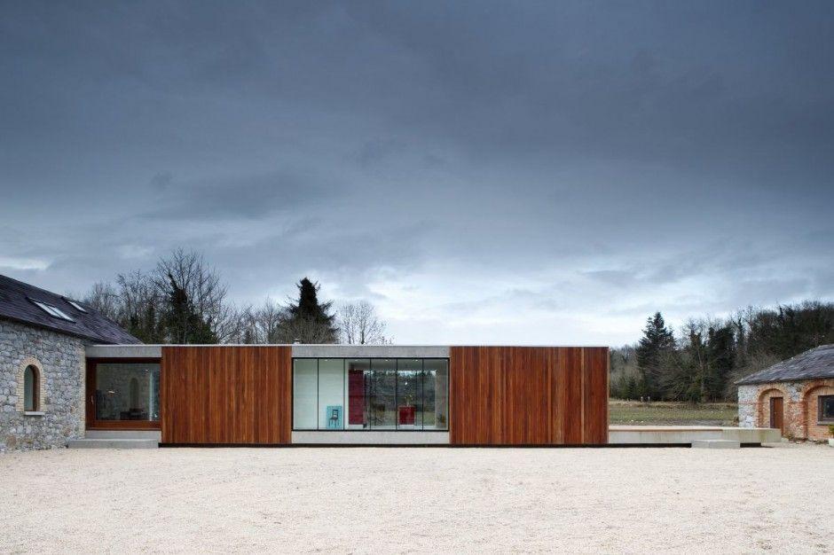 Ballymahon Farmhouse by ODOS Architects Modern buildings