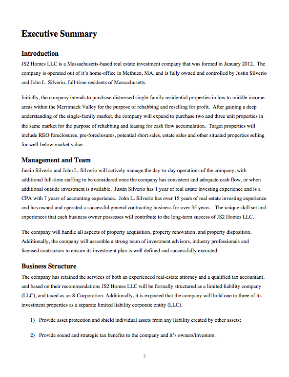 Business plan for a housing development thesis statements for persuasive essays