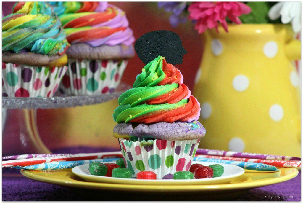 Insideoutmoviecupcakes Inside Out 4 Kidz Pinterest Movie