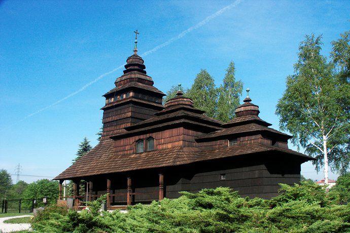 Wood Church In Beskydy North Moravia Moravia Church Czechia