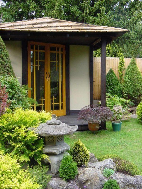 Japanese Tea house for oriental gardens made in the UK