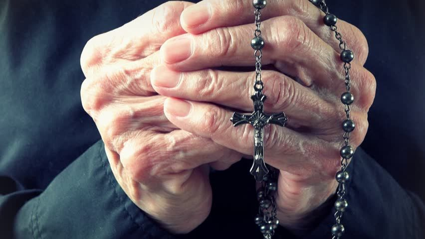 Image result for old hands rosary