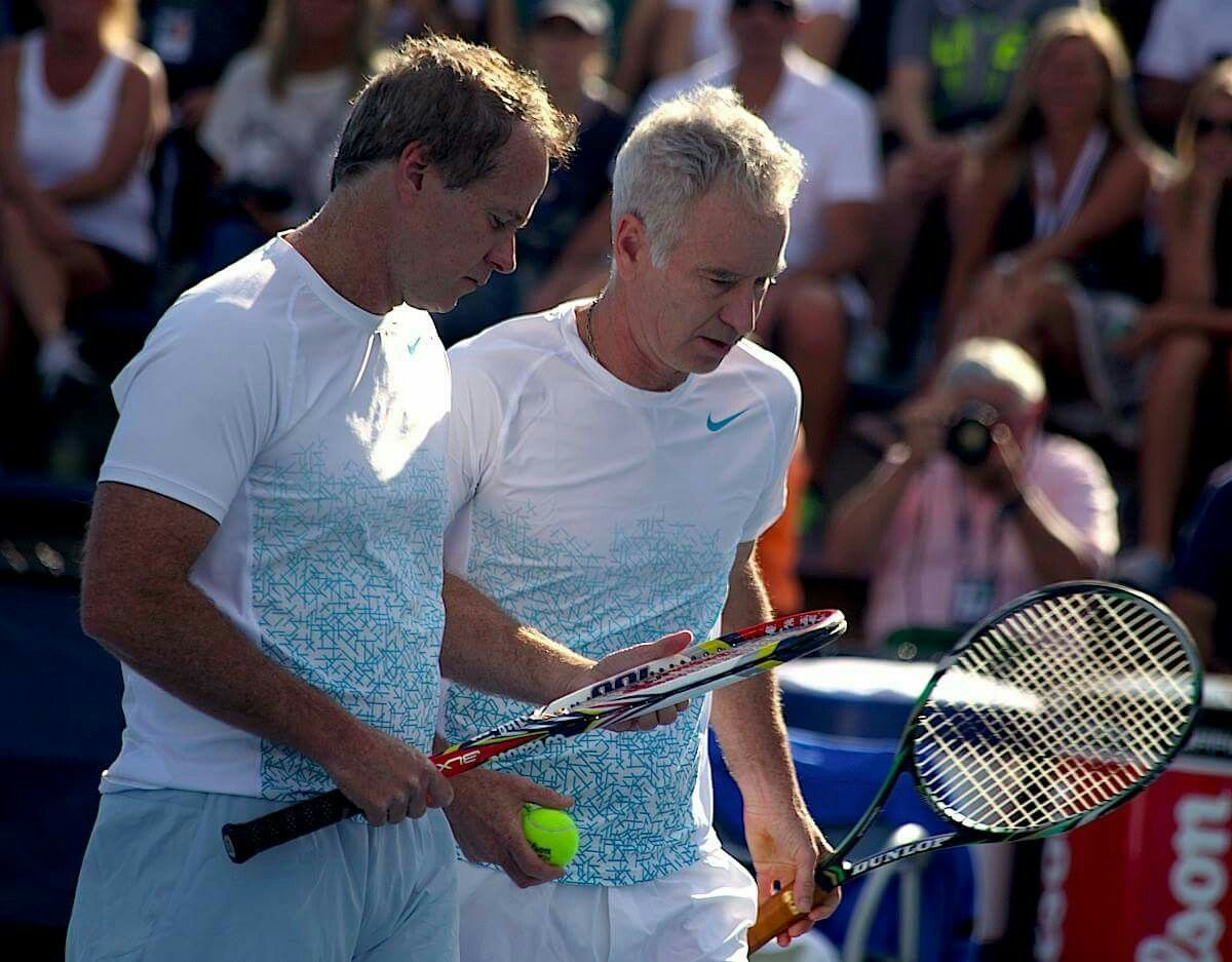 John & Patrick McEnroe John mcenroe, John, Tennis