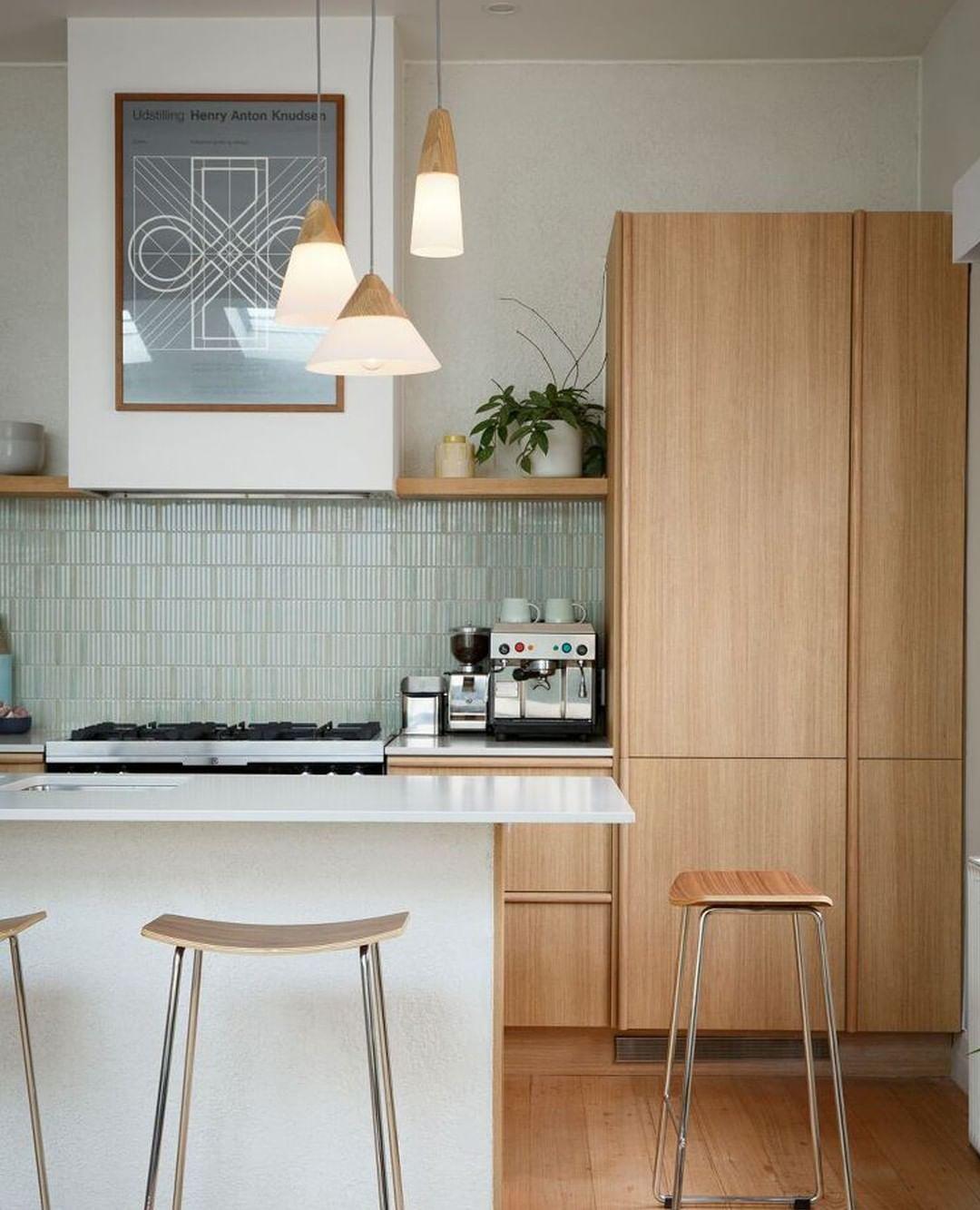 Homes To Love Nz On Instagram Everything In This Kitchen Comes Together To Create The U Diy Kitchen Decor Interior Design Kitchen Contemporary Kitchen Design