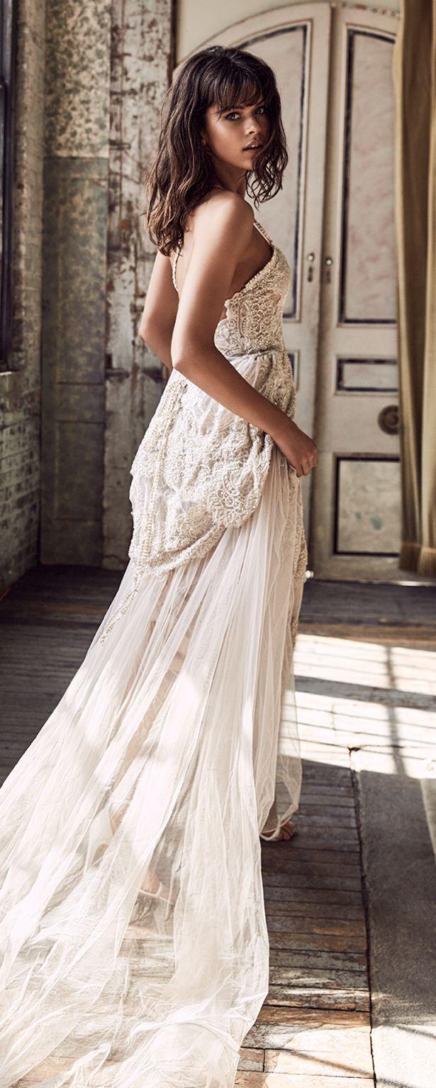 Gracia Ama Cordón Colección Nupcial Blanc Bridal Collection And Wedding Dress