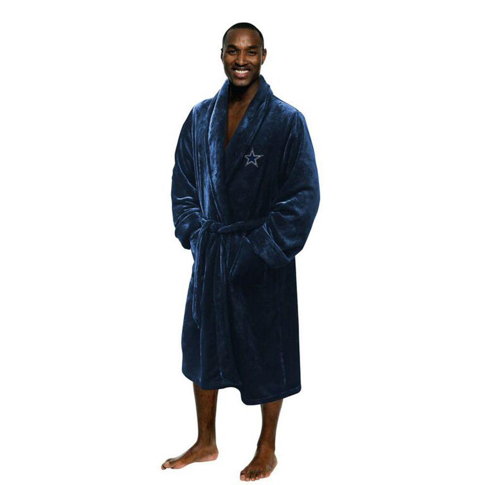 Dallas Cowboys NFL Men's Silk Touch Bath Robe (S/M)