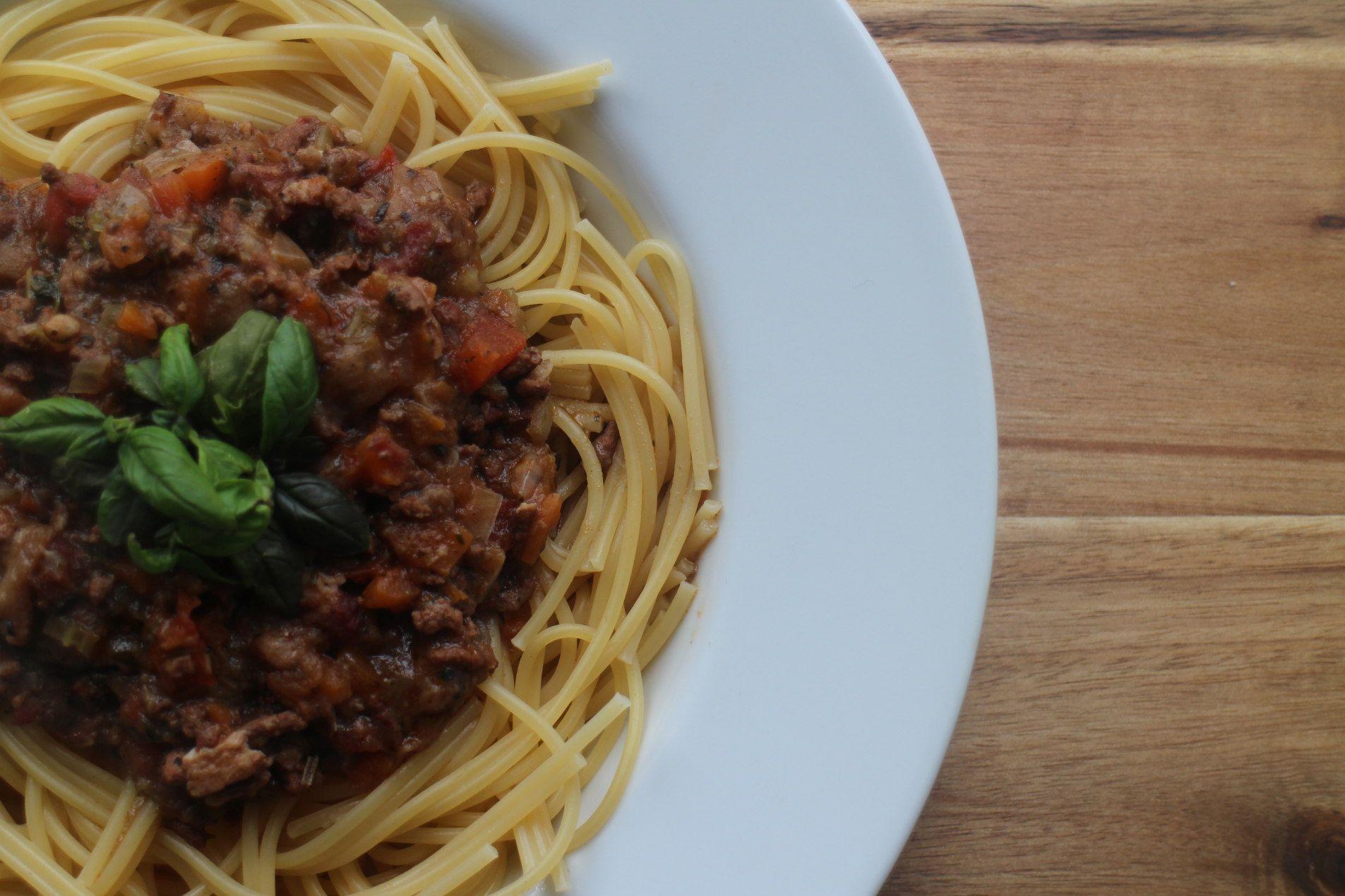 Spaghetti Bolognese Eller Pasta Bolognese Afhaengig Af Hvilken Type