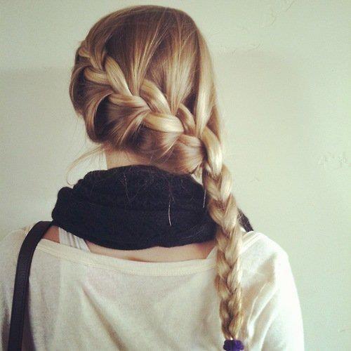 French Side #Braid #hair
