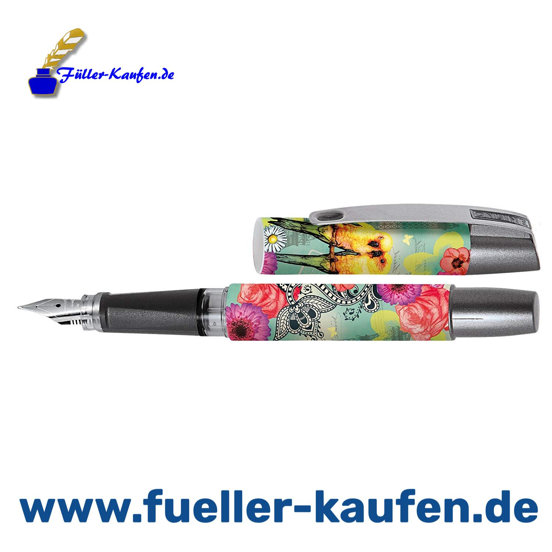 Griffstück STABILO® EASYbuddy Feder A Stabilo Füller Tinte schre... dunkelblau