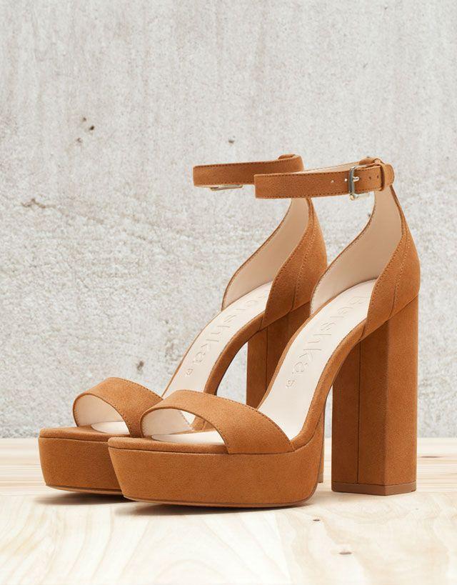 1f5b0657e0f Chaussures - Femme - Nouveautés - Bershka France