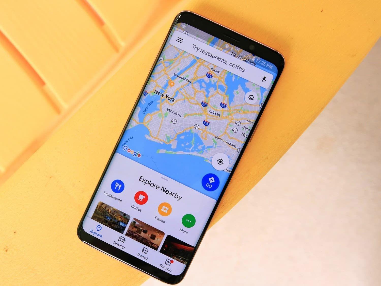 كيف يعمل GPS على هاتف أندرويد؟ Location pin, Google maps