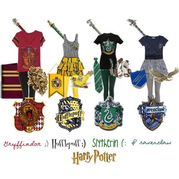Potterhead House Fashion Which Uniform Will Make Its Way To Your Closet Harry Potter Accessories Harry Potter Outfits Harry Potter Style