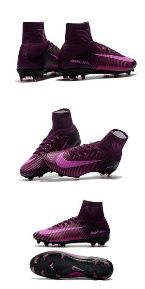 Nike Mercurial Superfly 5 FG ACC Chaussures de Foot Violet