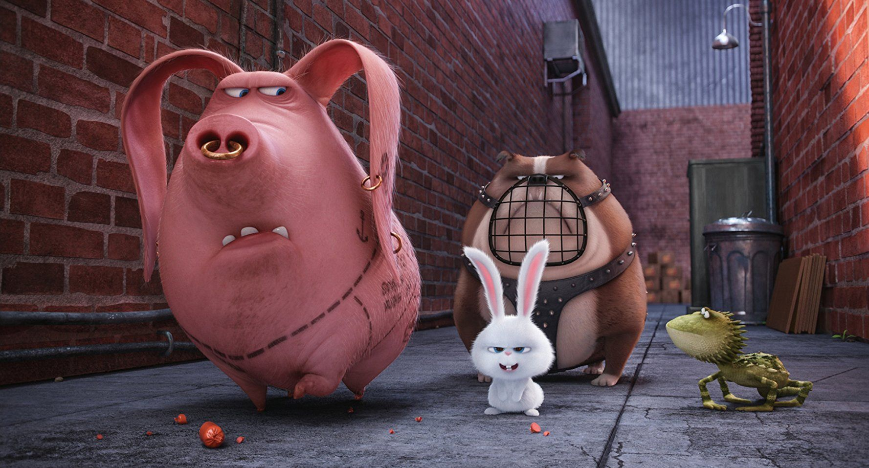 Michael Beattie And Kevin Hart In The Secret Life Of Pets 2016 ペット用品 ペット映画 ペット