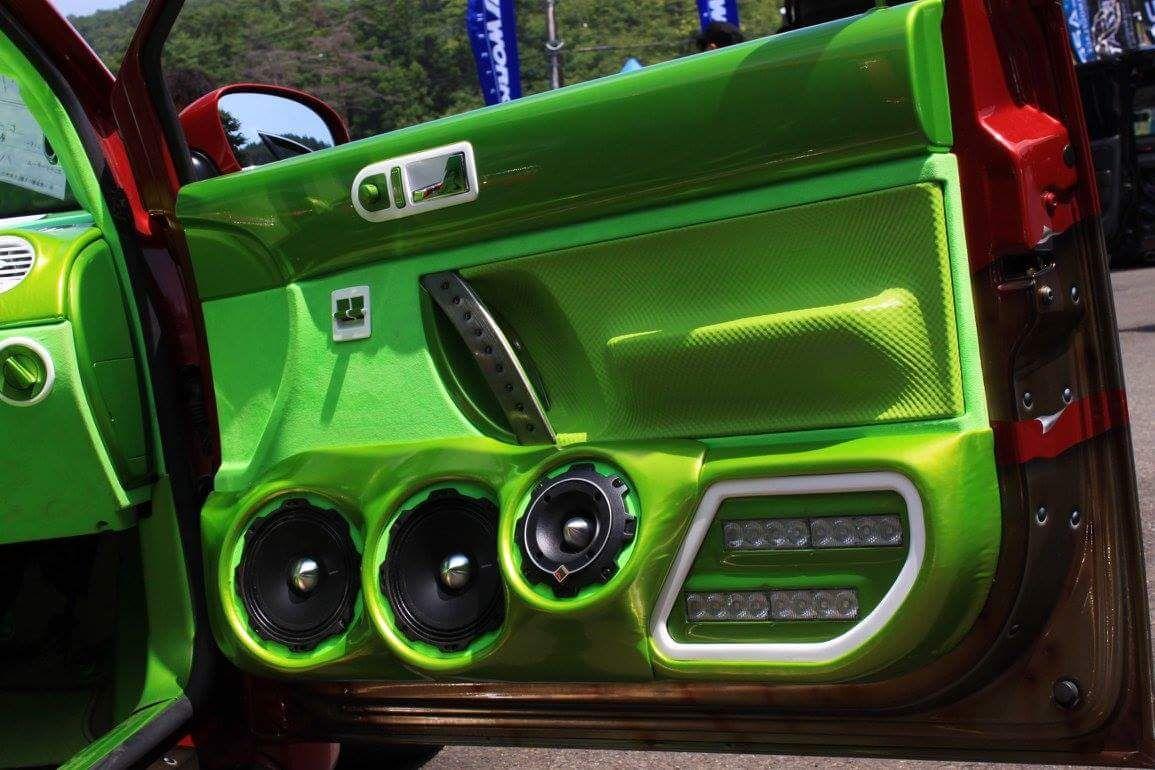 Rockford Fosgate Component Door Car Audio Installation Car Audio Systems Volkswagen New Beetle