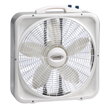 This Weatherproof Box Fan With Thermostat Should Work Perfectly Well For Us As An Attic Fan Around 30 At Home Depot Box Fan Lasko Attic Fan