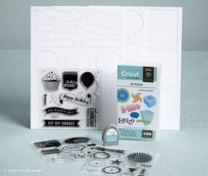 @Cricut ® Artiste – New Cartridge by @Close To My Heart - Pre-Order yours today!