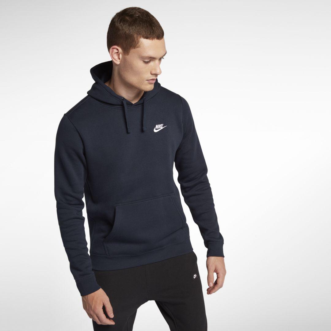 265aab88a85a Nike Sportswear Club Fleece Men s Hoodie Size 2XL Tall (Obsidian)