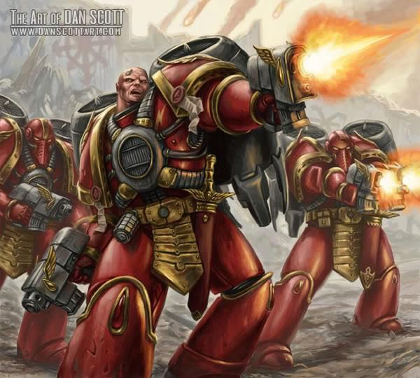 Pre-Heresy Blood Angel Assault Squad | La legion