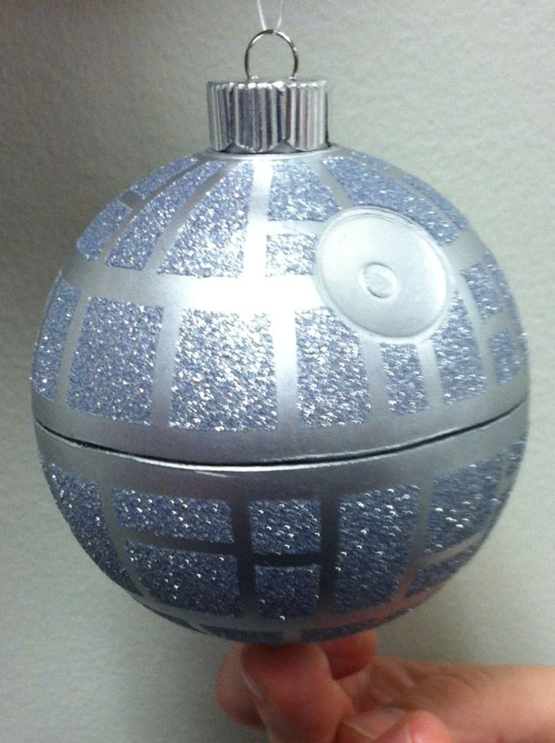 This ornament might just win the home made ornament lifetime