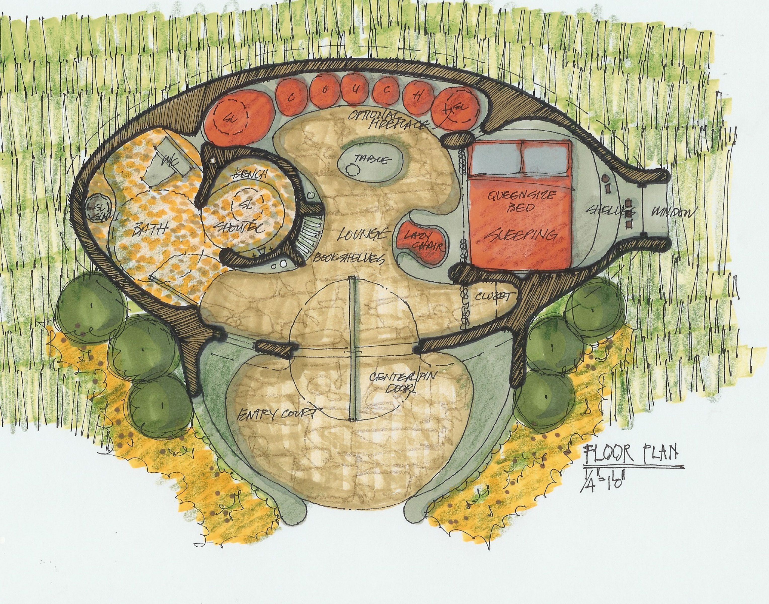 Hobbit House Plans Bag End Floor Plan Planos Pinterest House Earthship And