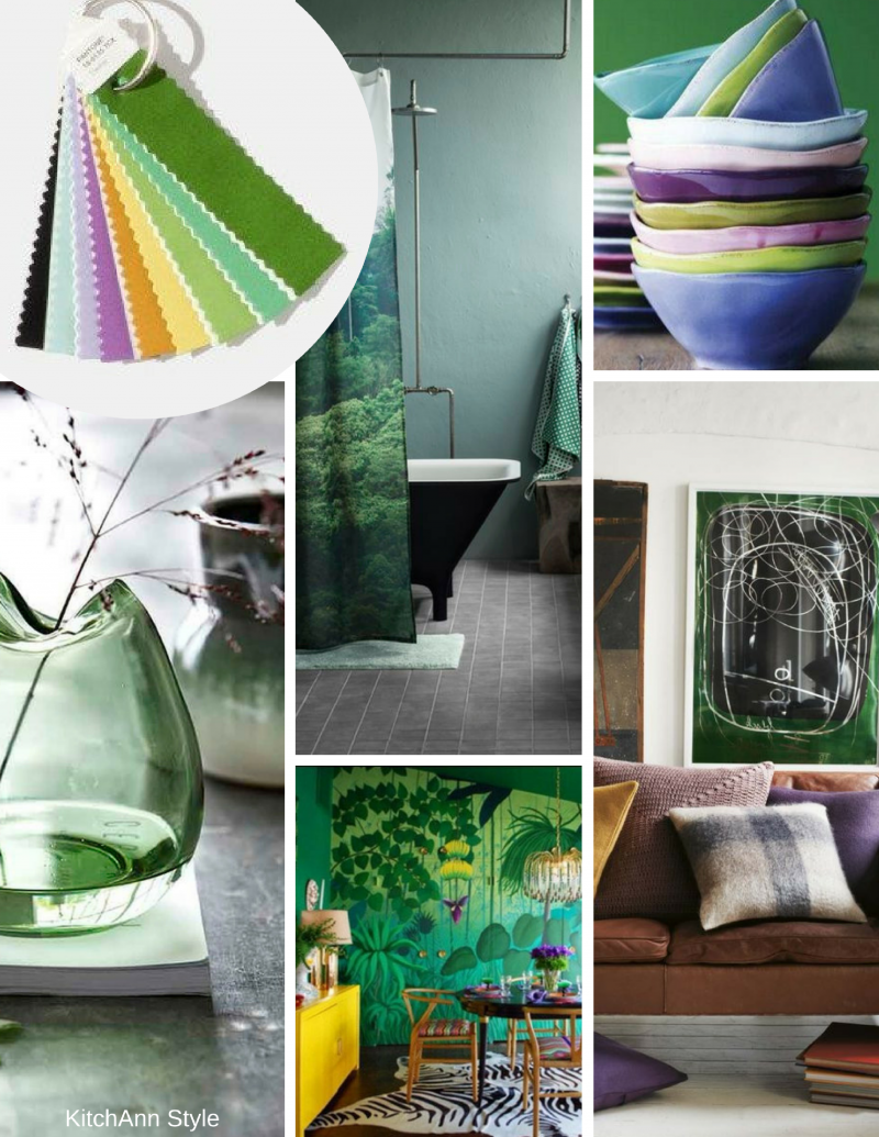 2018 Interior Home Color Trends: Pantone Interiors 2018 Color Palettes