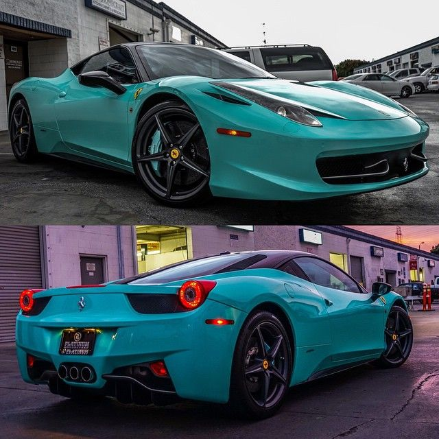 """""""• Ferrari 458 Italia 