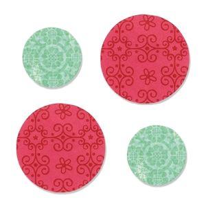 """1"""" & 1 1/2"""" Circles"""