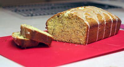 French Lemon-Poppy Pound Cake...yum my favorite!