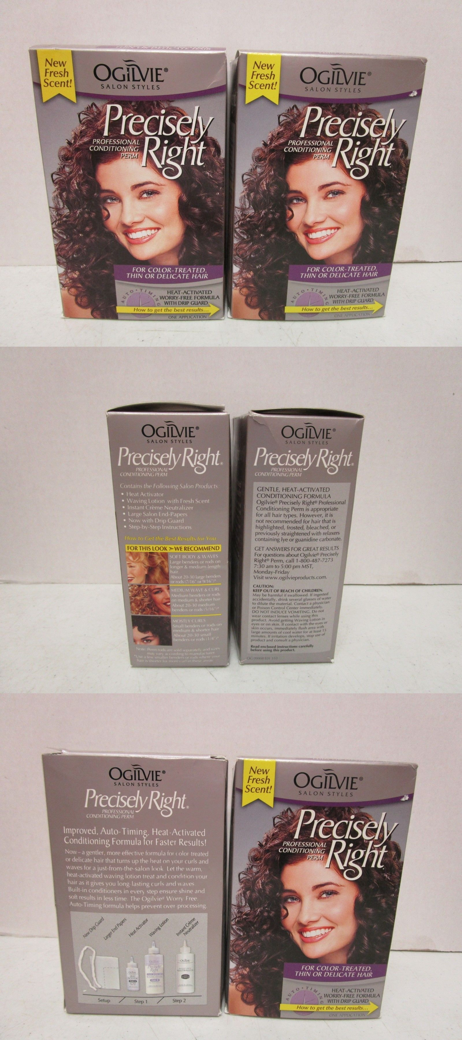 2 Ogilvie Precisely Right Perm For Color Treated Thin Or Delicate