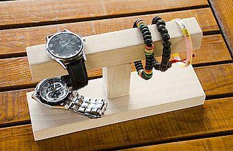 Pomôcky - Stojan na náramky a hodinky - 5771730_